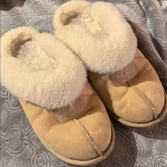 9dd27cf8da7 Ugg Coquette Sheepskin slippers slide on clogs